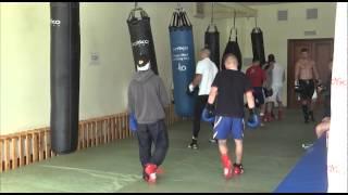 Подготовка на олимпийской базе сборной Украины по боксу перед Олимпиадой 2012