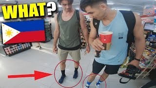 FIGHTER BOYS Wearing Long-SOCKS in PHILIPPINES !?