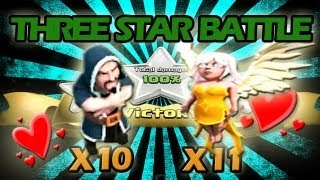 10 Level 5 Wizards + 11 Healers = INVINCIBILITY - Three Star Battle of The Week #7!!!!