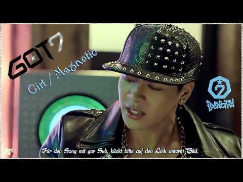 MV HD GOT7 - Magnetic / Girl k-pop [german Sub]