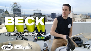 Beck: A 5 Minute Drum Chronology - Kye Smith [HD]