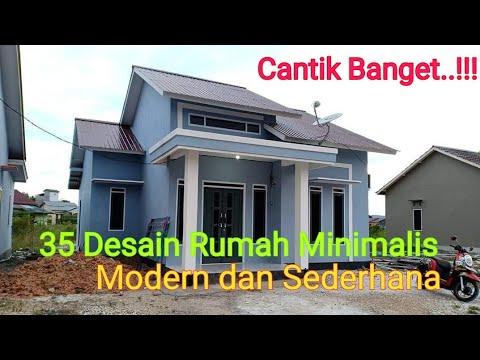 Desain Rumah Minimalis Modern Dan Sederhana 2020 Youtube