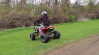 Yamaha Raptor 250 Top Speed