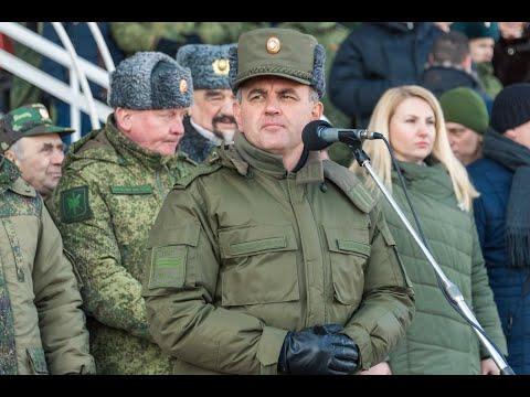 Главнокомандующий Вооруженными силами ПМР поздравил участников военно-спортивного праздника