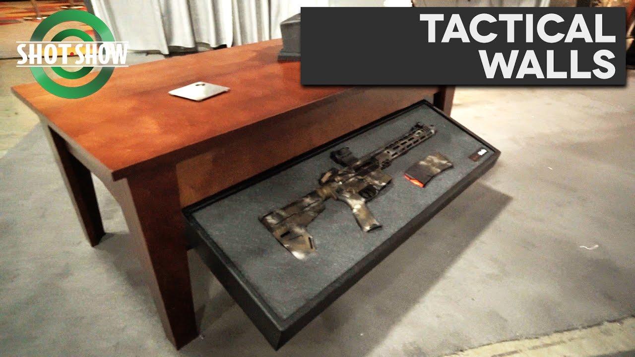 Tactical Walls Concealment Tables Shot Show 2017 Youtube