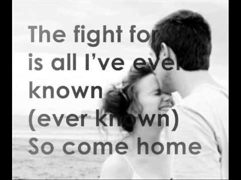 One Republic Ft Sara Bareilles - Come home with lyrics