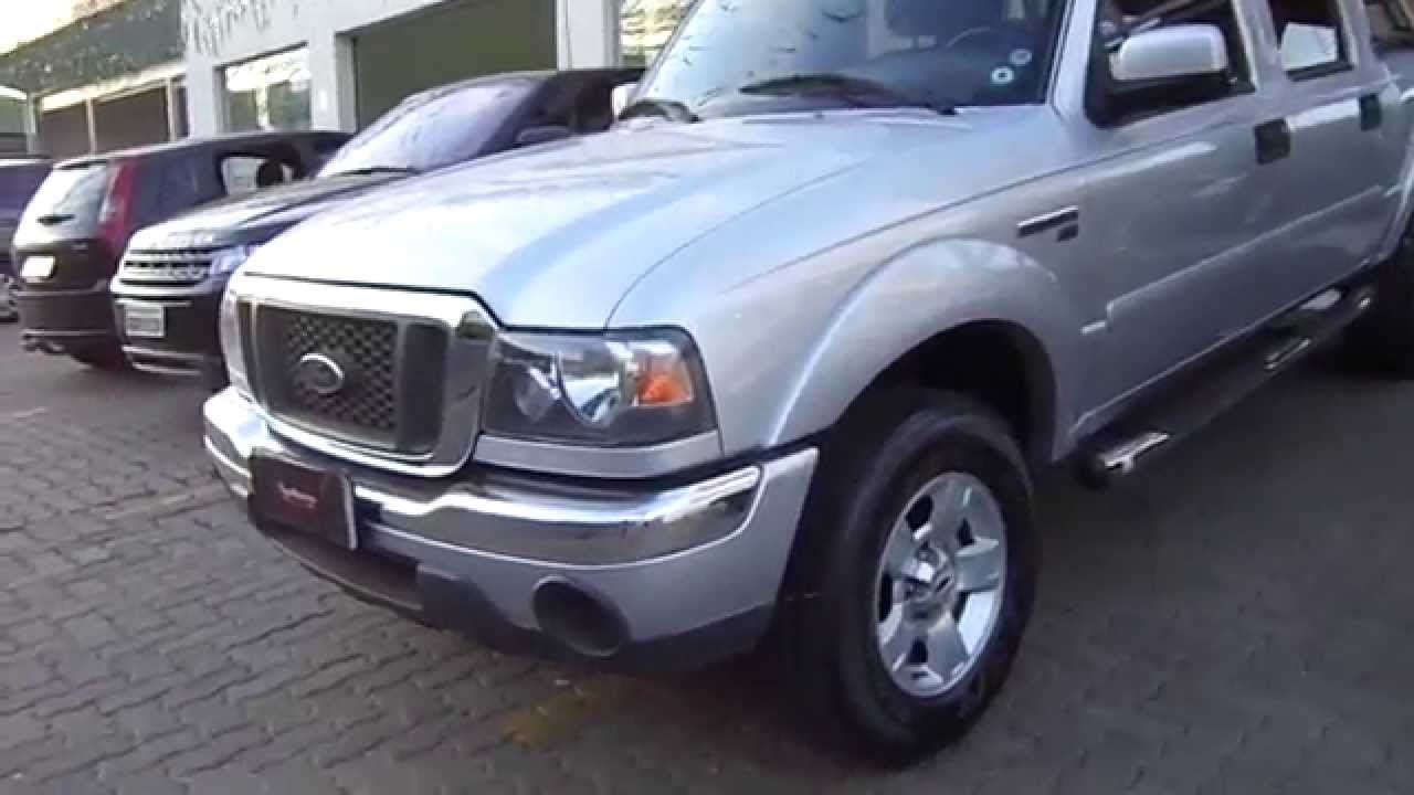 Ford Ranger Cab Dupla Xlt 2 3 16v 4x2 2008 Youtube