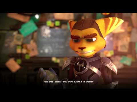 Ratchet and Clank - A Crack in Time - 035 - Cutscene - Alister Azimuth