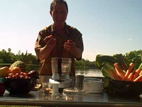 Making Raw Brazil Nut Butter in the Omega FoodPro Food Proce