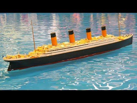XXXL BIG RC MODEL SHIP TITANIC!! *RC POLICE SHIPS, RC SCALE MODEL BOATS, CRUISE SHIP