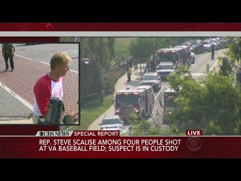 Sen. Jeff Flake Describes Shooting At Congressional Baseball Practice