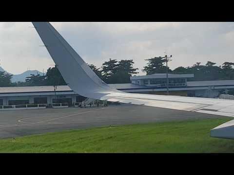 Touchdown at Tacloban Airport 2017