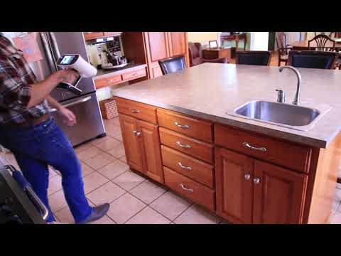 3D Scanning For Counter Top And Cabinet Design With The Artec Leo 3D Scanner