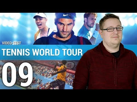 TENNIS WORLD TOUR :  La déception ? | TEST