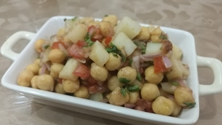 Chana Chaat Recipe | Best Lahori Aloo Cholay Chaat Recipe | Ramadan Iftar Recipes in Urdu/Hindi