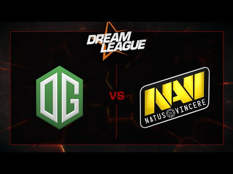 OG vs Na'Vi - Playoffs Final - DreamLeague S5 - G1