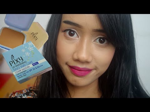Review & Uji Ketahanan | Pixy Cover Smooth Two Way Cake - Light Caramel