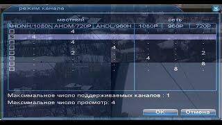 Обзор 4-х канального  AHD видеорегистратора  smar SAE3000-A1004NS