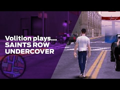 Volition Plays: Saints Row Undercover