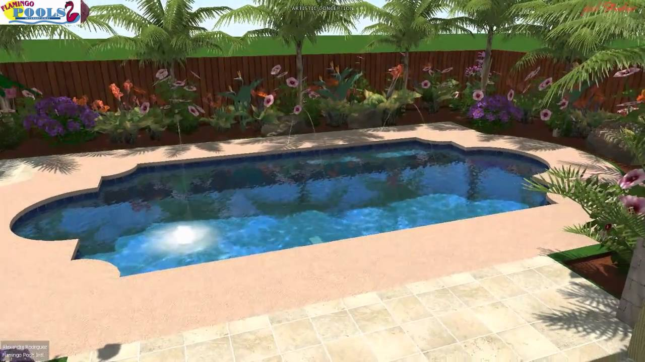 3d swimming pool design dmc edinburg youtube for Swimming pool design xls