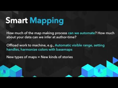Art of the Demo: Smart Maps, Insights, and Data Visualization at Esri By Mark Harrower