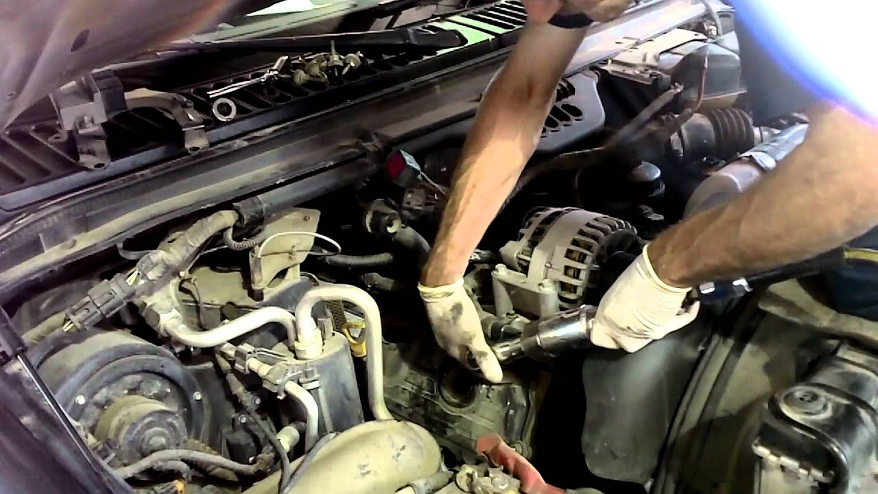 6 0 Liter Ford Powerstroke Injector Replacement Part I Youtube