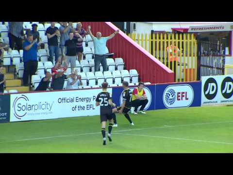 Stevenage 1-2 Crewe Alexandra: Sky Bet League Two Highlights 2016/17 Season