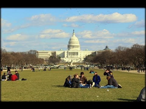 WASHINGTON DC TOUR ON BIKE    I    National Mall and Memorial Parks