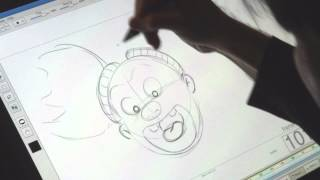 THE CROODS - Drawing Tutorial - Sandy