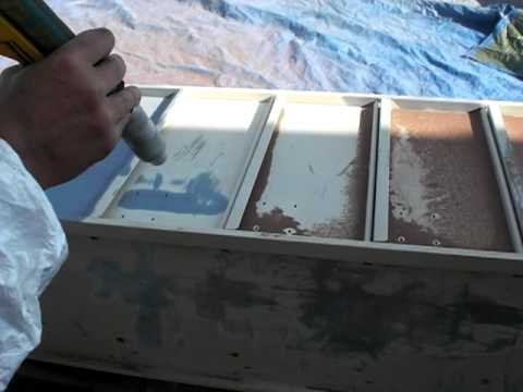 decapage metal avec aerogommeuse n 17 de 2011 youtube. Black Bedroom Furniture Sets. Home Design Ideas