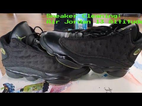 Sneaker Cleaning: Retro Air Jordan 13 Altitude
