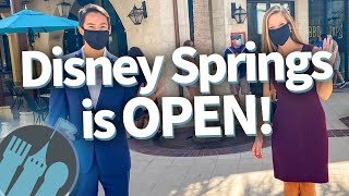 Disney Springs Is OPEN! See What a Reopened Disney World Looks Like!