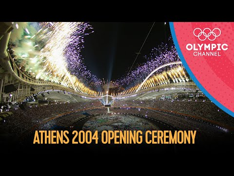 Athens 2004 Opening Ceremony - Full Length | Athens 2004 Replays