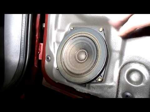 ford mondeo mk4 radio wiring diagram electrical motorbike bmw fiesta door speaker change youtube
