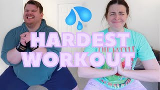 HARDEST WORKOUT YET! Chloe Ting Two Week Shred Challenge