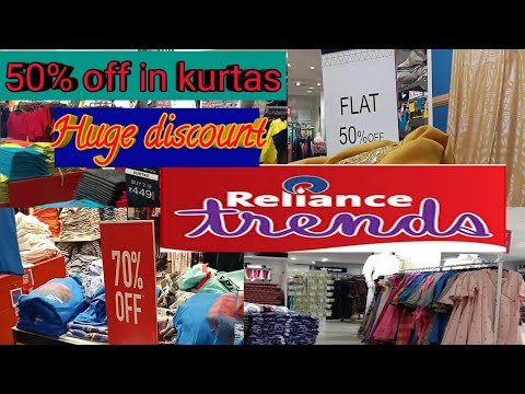 Reliance Trends Sale 2020 ! Newyear! Flat 70%off