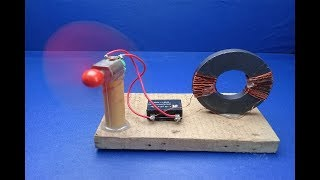 Free Energy Experiment | Free Energy Magnet Generator for Free Electricity | Science Project 2019