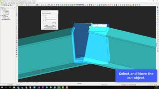 How to Fit Profiles in 3D in ProtaSteel
