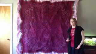 12. How to Dye a Wholecloth Quilt