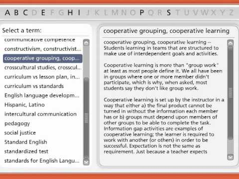 Important TESOL Terms for Teachers Part 3