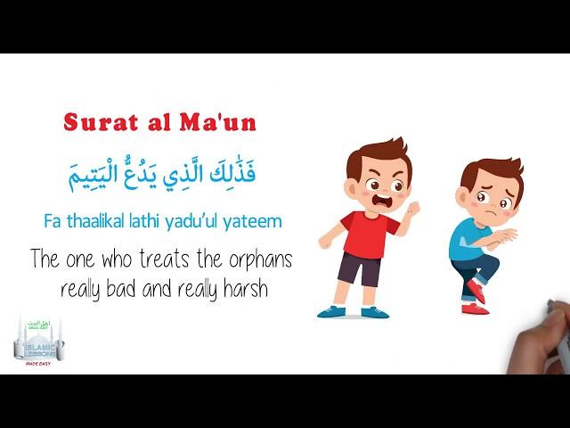 Tafsir Made Easy - SURAT AL MAUN