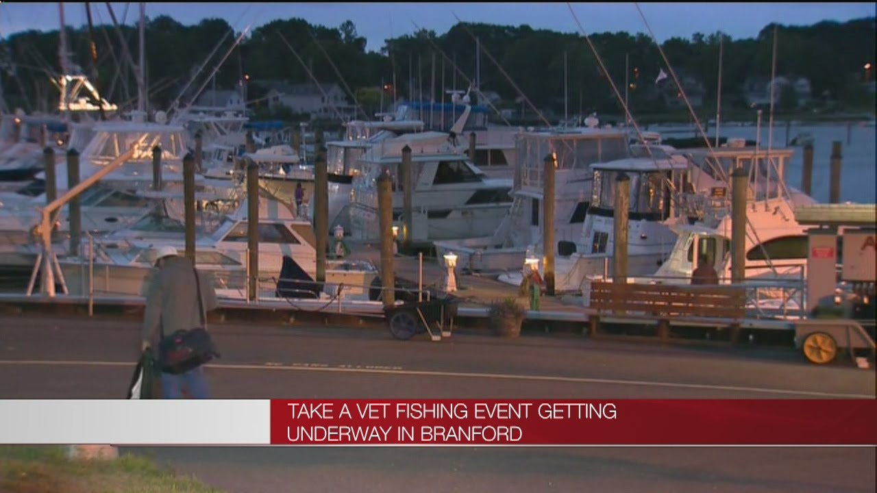 Take a vet fishing event starts up in branford youtube for Take a vet fishing