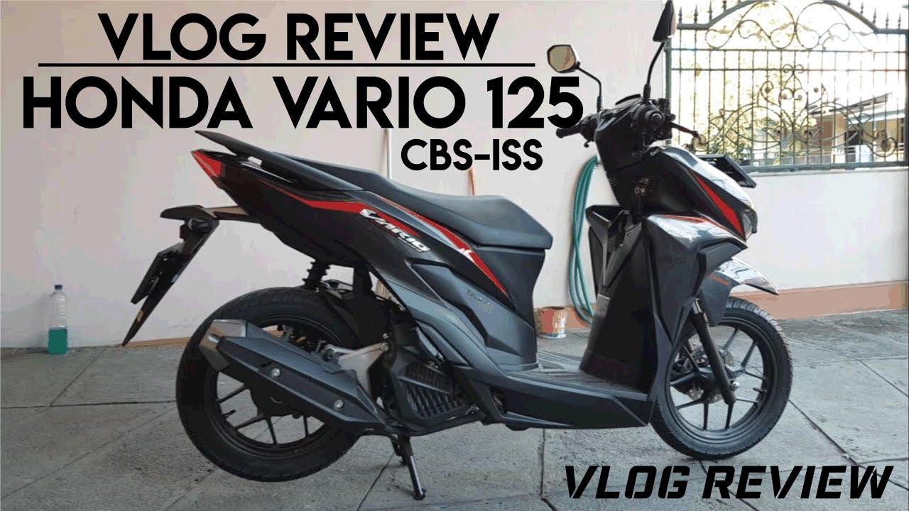 VLOG REVIEW NEW Honda Vario 125 CBS ISS 2018 YouTube