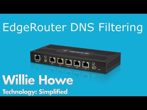 DNS Filtering - Ubiquiti Networks EdgeRouter Configuration - YouTube