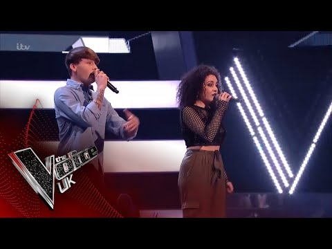 Bailey Nelson VS Kirby Frost - 'Friends': The Battles | The Voice UK 2018