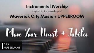 Maverick City Music x UPPERROOM: Move Your Heart / Jubilee | Piano Instrumental | One Hour Worship