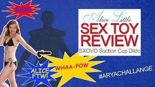 SXOVO Dildo - Sex Toy Review with Alice Little