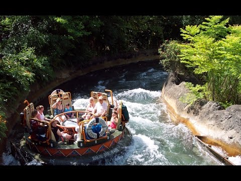 Kali River Rapids Complete Experience HD Animal Kingdom Walt Disney World