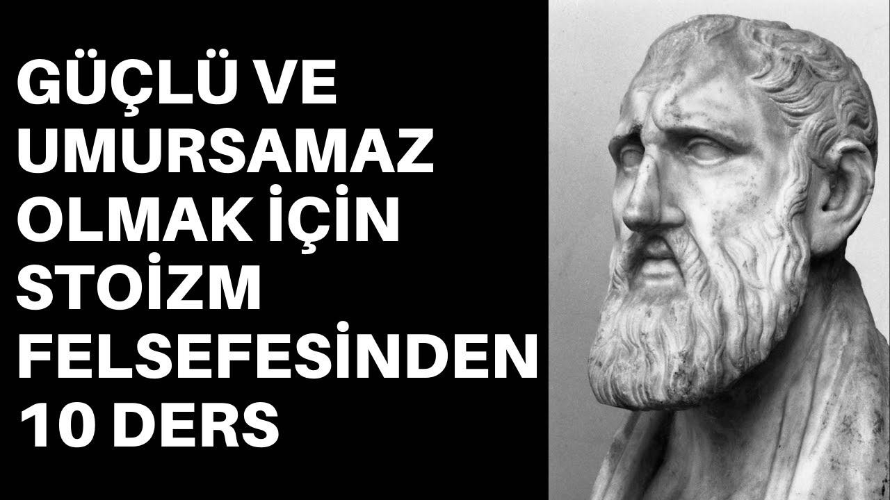 Download STOİZM FELSEFESİ İLE GÜÇLÜ İNSAN OLMAK