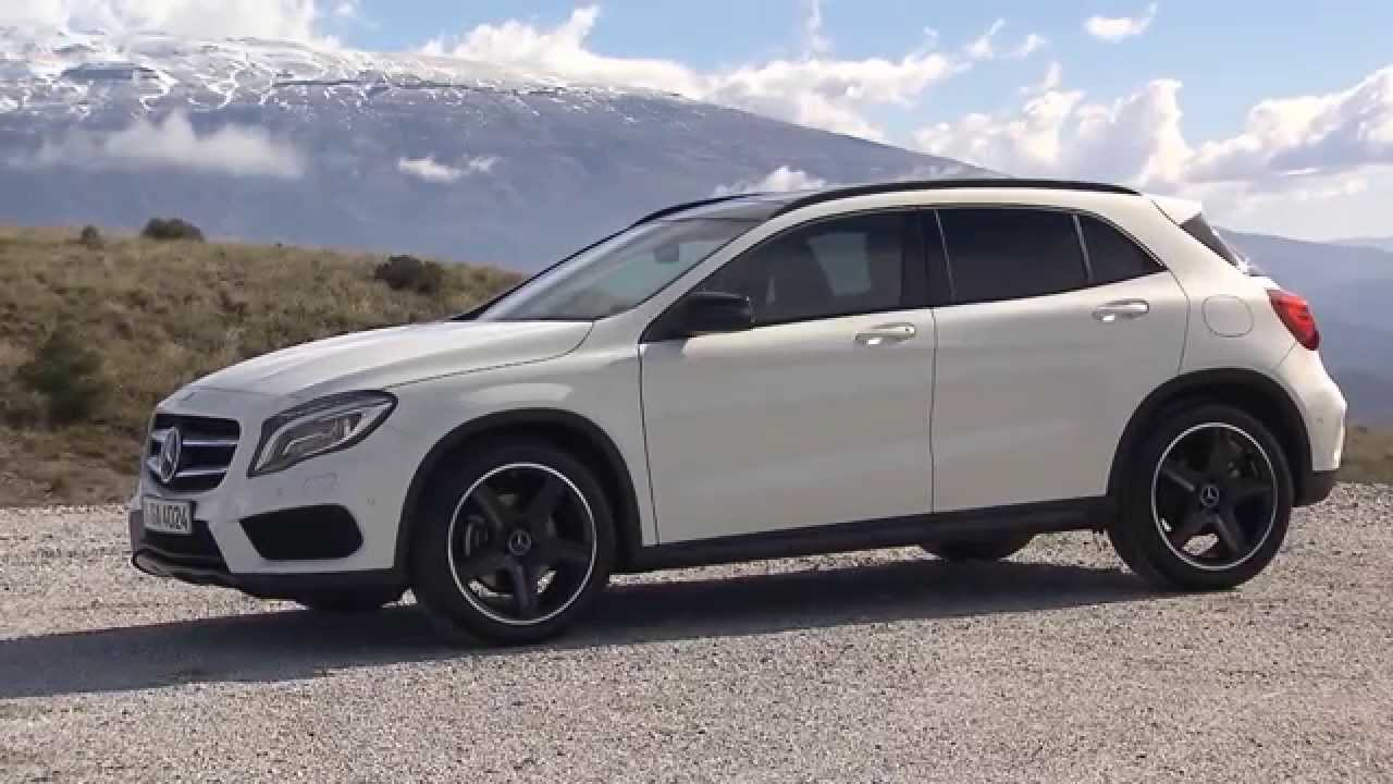 Mercedes Benz Gla 250 Cdi 4matic White Youtube